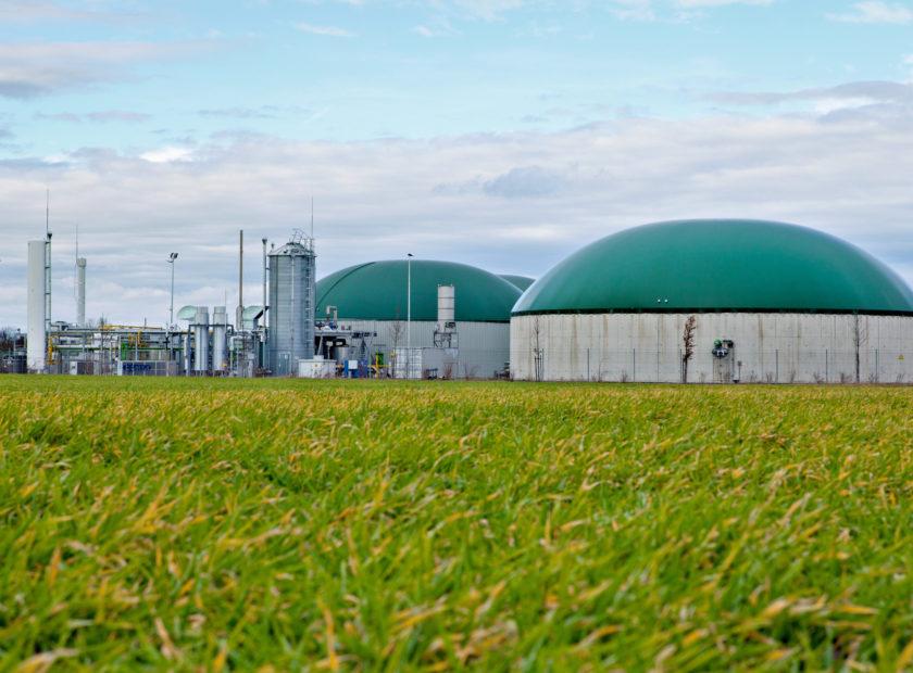 Biogasanlage mit Aufbereitung
